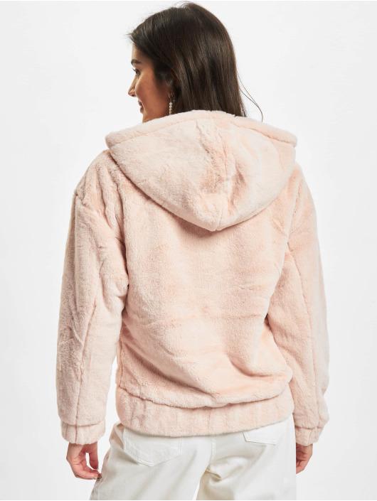 Urban Classics Transitional Jackets Ladies Teddy rosa
