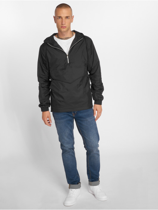 Urban Classics Transitional Jackets Pull Over svart