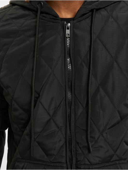 Urban Classics Transitional Jackets Hooded Big svart