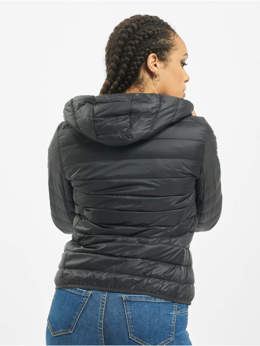 Urban Classics Transitional Jackets Basic Hooded Down svart