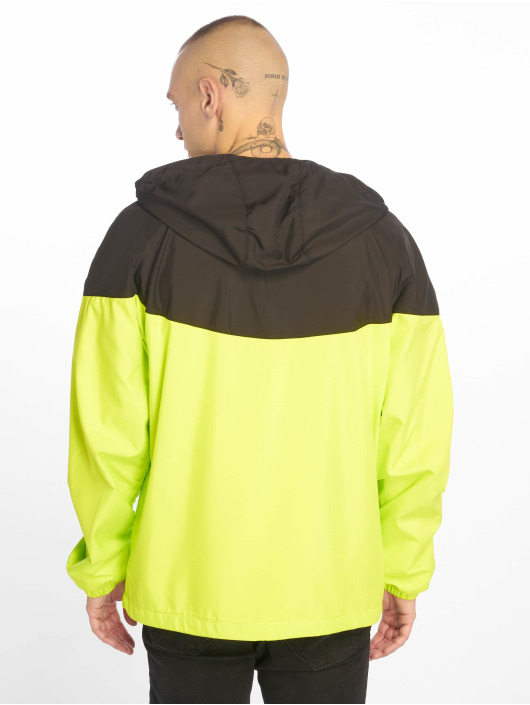 Urban Classics Transitional Jackets 2-Tone Tech Windrunner svart