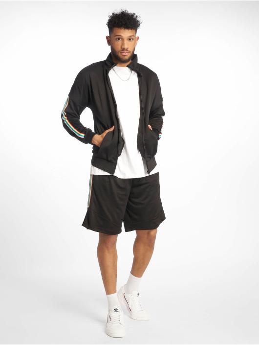 Urban Classics Transitional Jackets Sleeve Taped Track svart