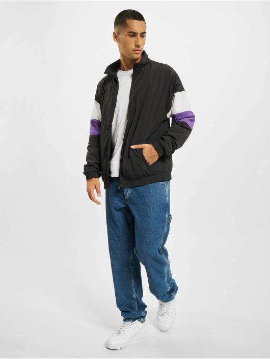 Urban Classics Transitional Jackets 3-Tone Crinkle svart