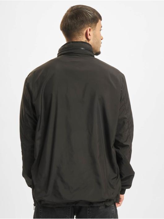 Urban Classics Transitional Jackets Hidden Hood svart