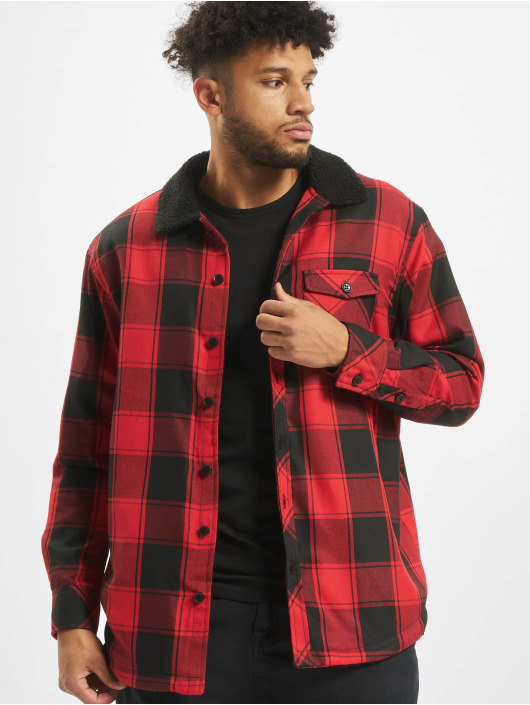 Urban Classics Transitional Jackets Sherpa Lined svart