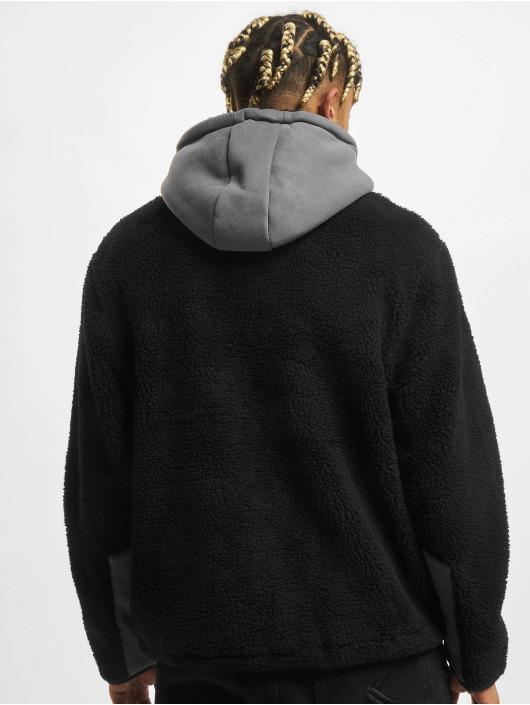 Urban Classics Transitional Jackets Hooded svart