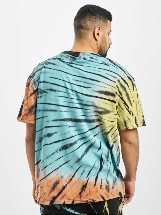 Urban Classics Tričká Tie Dye Oversized T-Shirt èierna