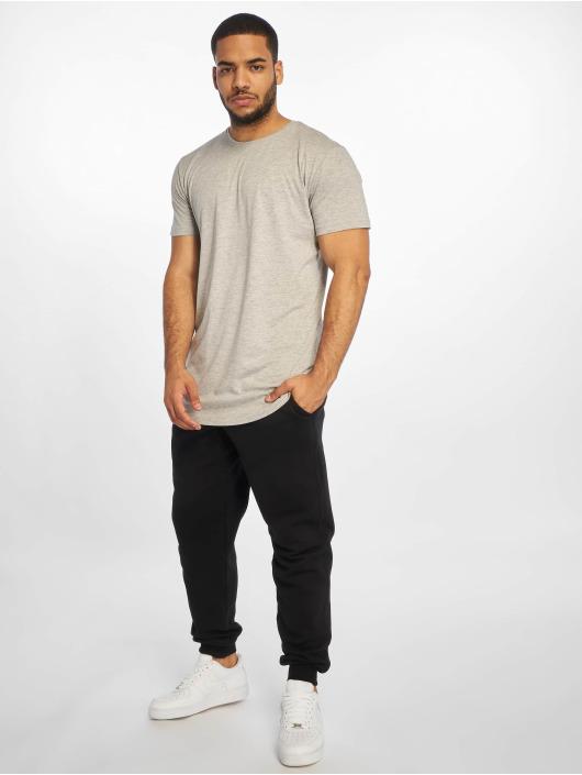 Urban Classics Tričká Shaped Long šedá