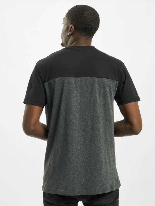 Urban Classics Tričká 3-Tone Pocket šedá
