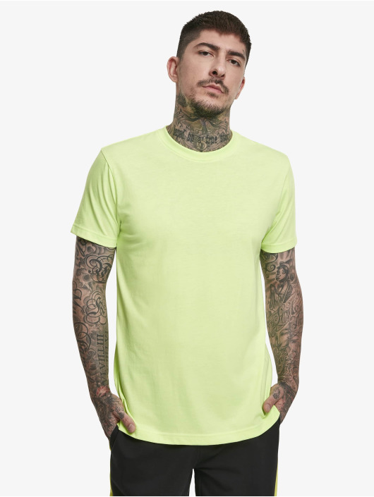 Urban Classics Tričká Basic žltá