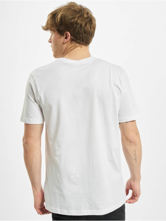Urban Classics Tričká Basic Pocket biela