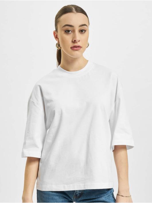 Urban Classics Tričká Organic Oversized 2-Pack biela