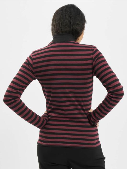 Urban Classics Tričká dlhý rukáv Ladies Y/D Turtleneck LS èervená