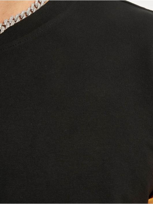 Urban Classics Tričká dlhý rukáv Stretch Terry èierna