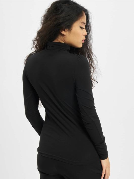 Urban Classics Tričká dlhý rukáv Puffer Sleeve èierna