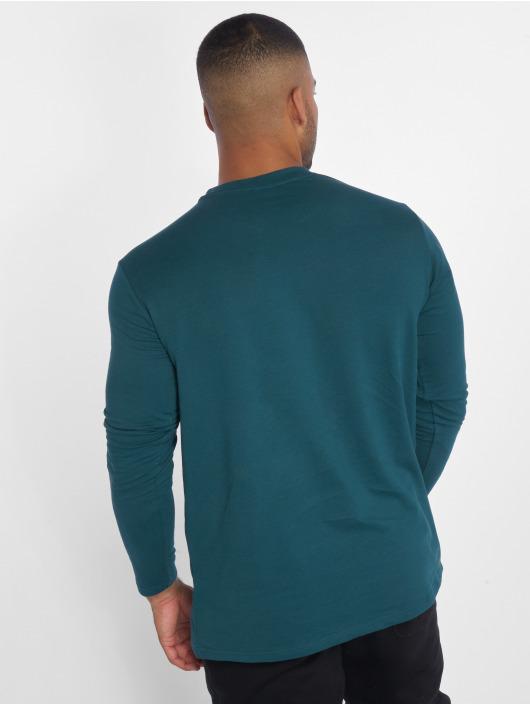 Urban Classics Tričká dlhý rukáv Stretch Terry zelená