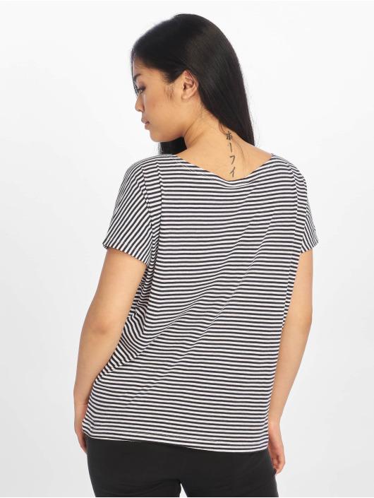 Urban Classics Tričká Yarn Dyed Baby Stripe modrá
