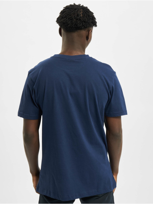 Urban Classics Tričká Basic Pocket modrá