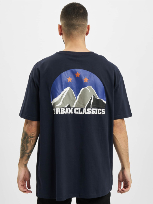 Urban Classics Tričká Horizon Tee modrá