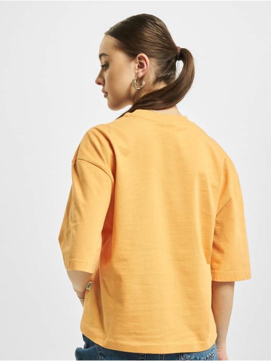 Urban Classics Tričká Organic Oversized oranžová