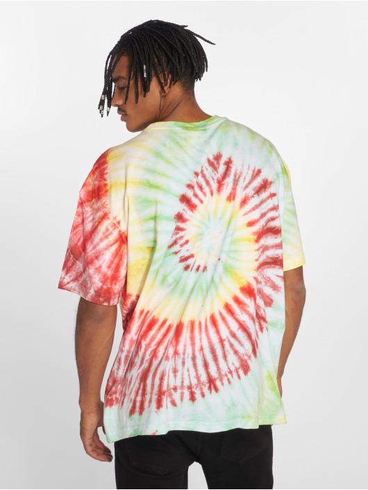Urban Classics Tričká Spiral Tie Dye Pocket pestrá