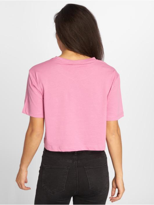 Urban Classics Tričká Short Oversized pink