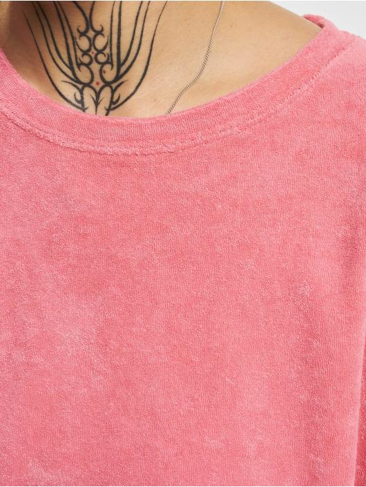 Urban Classics Tričká Short Towel pink
