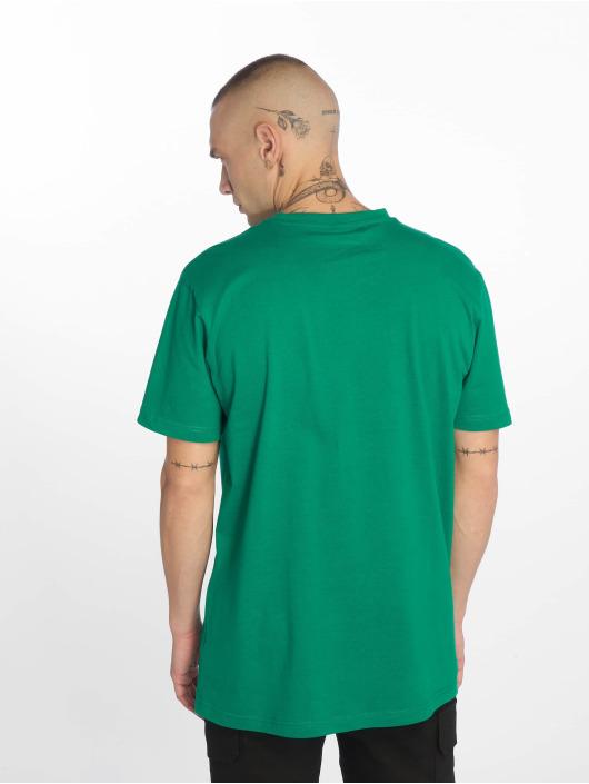 Urban Classics Tričká Basic zelená