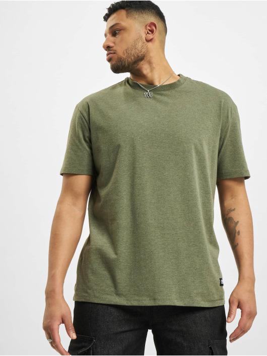 Urban Classics Tričká Oversize zelená