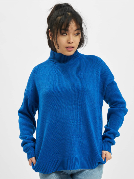 Urban Classics Tröja Oversize blå