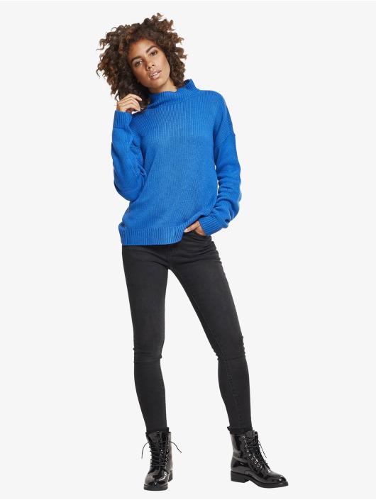 Urban Classics Tröja Ladies Oversize blå