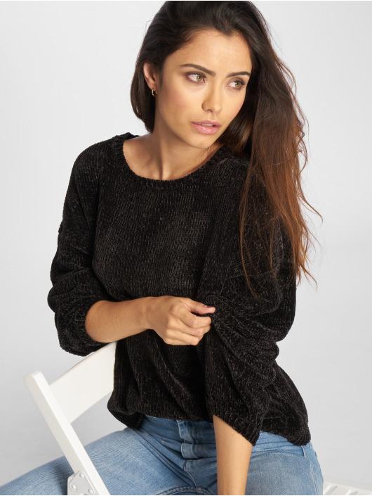 Urban Classics Oversize Chenille Sweater Black