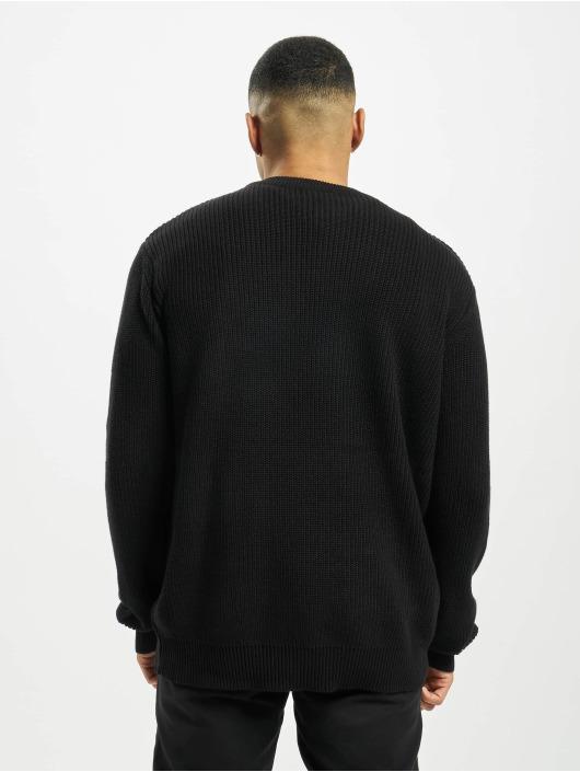 Urban Classics Tröja Cardigan Stitch svart