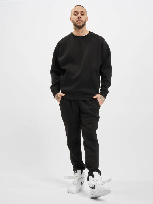 Urban Classics Tröja Raglan Zip Pocket Crew svart