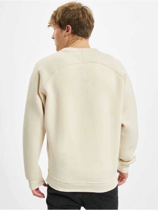 Urban Classics trui Raglan Zip Pocket Crew beige