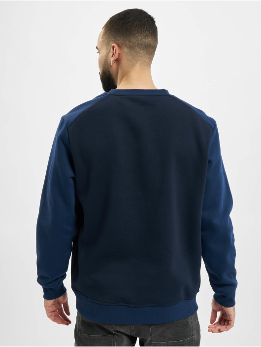 Urban Classics trui 2-Tone Fake Raglan blauw