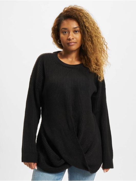 Urban Classics trui Wrapped zwart