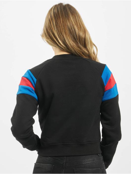 Urban Classics trui Sleeve Stripe zwart