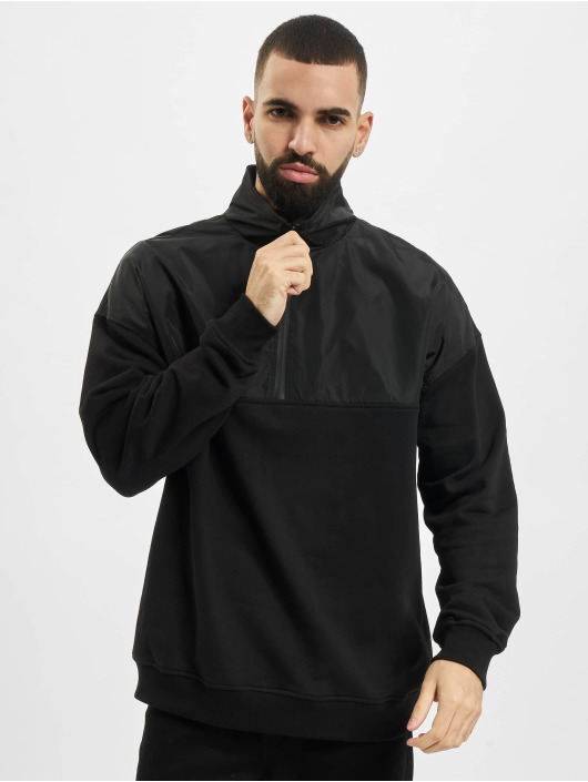 Urban Classics trui Military zwart