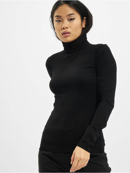 Urban Classics trui Ladies Basic zwart