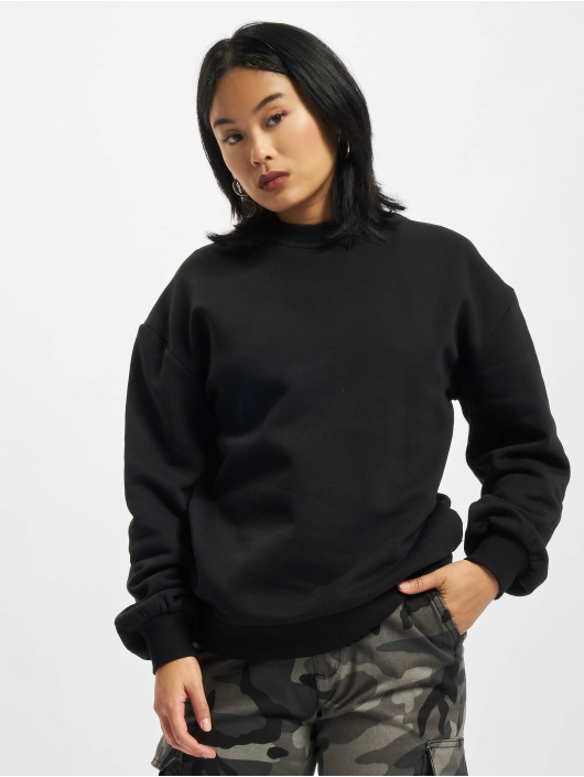 Urban Classics trui Organic Oversized zwart