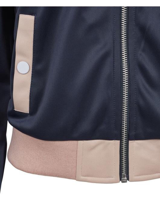 Urban Classics Übergangsjacke Button Up blau