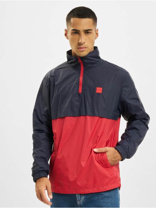 Urban Classics Übergangsjacke Stand Up Collar Pull Over blau