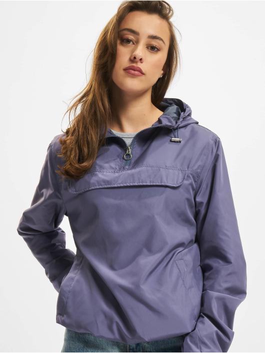 Urban Classics Übergangsjacke Ladies Basic blau