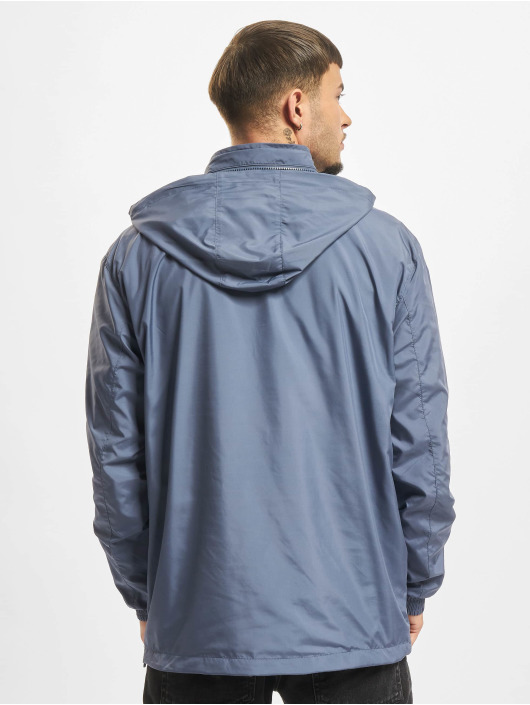 Urban Classics Übergangsjacke Hidden Hood blau