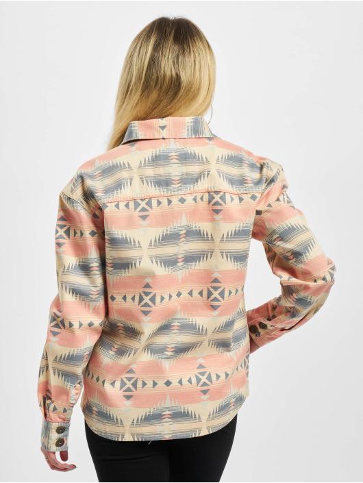 Urban Classics Übergangsjacke Ladies Inka Oversized bunt