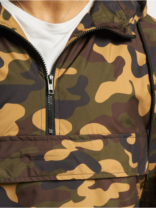 Urban Classics Übergangsjacke Camo Pull Over camouflage