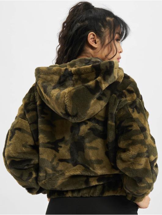 Urban Classics Übergangsjacke Camo Teddy camouflage