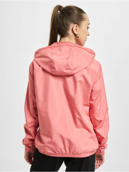 Urban Classics Übergangsjacke Ladies Basic Pull Over pink