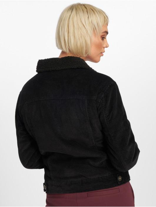 Urban Classics Übergangsjacke Sherpa Cordury schwarz